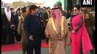 News video: Bahrain king seeks to boost ties with India during his first visit